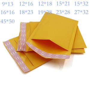 Kraft Bubble Mailers Enveloppes Sacs OfficeKit Kraft Bubble Mailers 11 tailles Livraison des enveloppes matelassées auto Joint Cushioned enveloppe postale