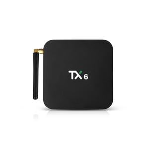 TX6 TV Box Android 9.0 2.4G 5G WiFi Bluetooth 4.1 4K H.265 HD Smart ALLWINNER H6 MEDIA PLAYER