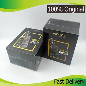 100% d'origine voopoo Drag 2 Platinum 177W TC Kit avec voopoo UForce T2 réservoir Atomizer puce GENE.FIT 0.4ohm U2 /0.2ohm bobine N3 e cig