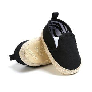 Sapatos WEIXINBUY Vendas Moda Baby Boy algodão listrado sola macia lona da criança Primeiros Walkers Calçados Esportivos 0-18 Meses