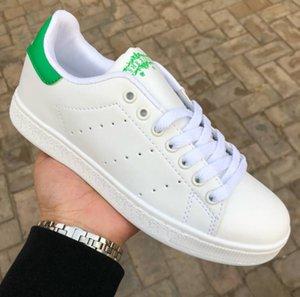 Calientes! Clásicos zapatos de estilo Stan Smith zapatos ocasionales de las mujeres de los hombres de 36-44 Blanca Musial Stan Smith zapatos de lujo del monopatín del estampado leopardo de las zapatillas de deporte