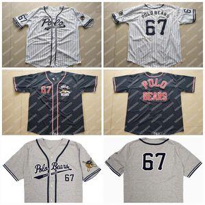 67 Polo Bears New Polo Polo Polo Teddy Bear Baseball Jersey Doppio Nome cucito e Number Baseball Jersey per la gioventù delle donne degli uomini Trasporto libero