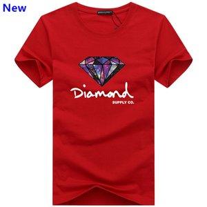 Fashion t shirt diamond men women Clothing 2018 Casual short sleeve tshirt men Brand designer Summer tee shirts J02 CU5T