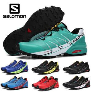 Marque Solamon Speedcross 5 V CS pro 2 chaussures de randonnée en plein air hommes chaussures de course vert noir blanc rouge jaune entraîneurs sportifs chaussures de sport