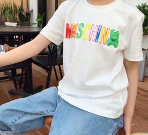 Ragazze T-shirt in cotone puro bambini camicie di cotone dei vestiti di estate T divertente Top T-shirt bambini Bianco Comfort bambino Dora Explorer Tees