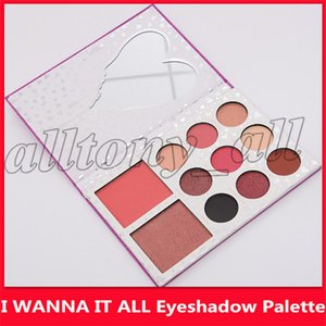 O mais baixo preço The aniversário Collection I WANT IT ALL Eyeshadow Bronzer Blush Palette 9 cores Eyeshadow Set Makeup