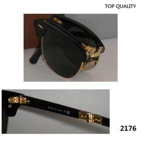 2020 Vintage Sun Square Gafas de sol plegables Gafas UV400 Moda Plegable Oculos Plegables Mujeres Hombres Marca Gafas para Diseñador Glasses51mm Lljn