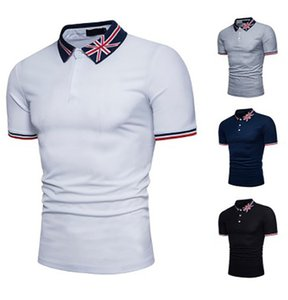 Men Summer Polo Shirt Brand Men's polo jersey Cotton Short Sleeve Polo Shirts Male Solid Jersey Breathable Tops Tee T200530