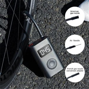2021 Fast Ship Xiaomi Electric Inflator Pump Portable Smart Digital Tire Pressure Detection For Bike Motorcycle Car Football