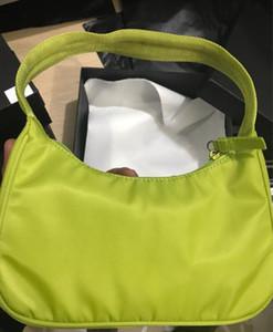 2020 جديدة أزياء أكياس النايلون المرأة محفظة الهلال حقيبة المباراة نسيج نيون حمل حقائب المحفظة حقيبة الصيف