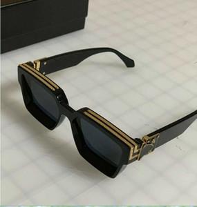 Ücretsiz Shipp Moda Marka Milyoner Güneş Gözlüğü Siyah Kanıt Güneş Gözlüğü kaliteli Lüks kutusu ile