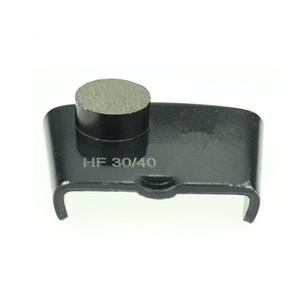KT08 EZ Изменить алмазную шлифовальная Тарелку с одним круглым сегментом HTC Diamond шлифовальной обувью для бетонных полов Terrazzo 12PCS