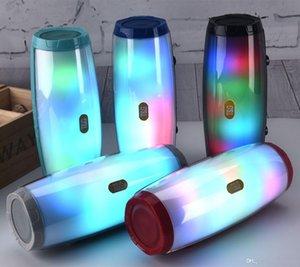 TG165 Altoparlanti lampada portatile LED Show Bluetooth Supporto Radio FM Wireless Mini Colonna Bass Subwoofer MP3 USB della carta di TF giocatore di musica MP3 TG165