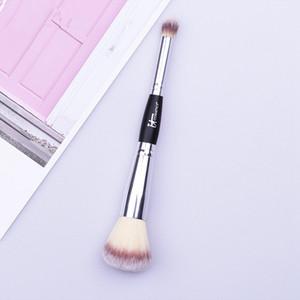 Cabeça dupla Escova de Sobrancelha Portátil Mulheres Facial Pincéis de Maquiagem Dos Olhos Cosméticos Dupla Cabeça Ferramentas de Escova de Sobrancelha RRA1156
