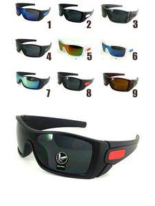 5 pçs / lote! A Fábrica de Venda-Frete Grátis de Alta Qualidade batwolfs Óculos De Sol Da Moda Unisex Esporte Ao Ar Livre óculos de Sol feitos na china.