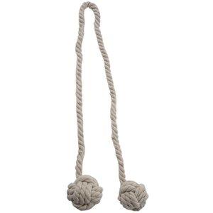 Legato BMBY-Fine mano tenda della clip tendaggi nappe cortina Tiebacks / nappa Finestra corda del cotone del legame palla indietro Accessori 132 centimetri (cre
