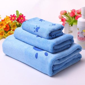 3pcs Towel Microfiber Fabric Bathrobe Hand maojin Girl Women Summer Bath Towel Children Cartoon Towel toalla microfibrarg