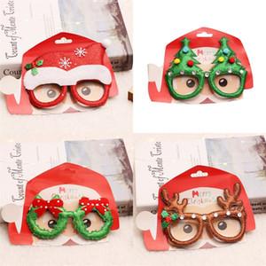 Noel Gözlük Noel Baba Ağacı Küçük Bell Gözlük Çerçevesi Karikatür Güzel Çocuk Cospaly Partisine Hazırlık 2 1RQ UU