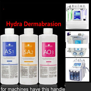 Do Aqua Limpe Solution / Aqua Peel Solução Concentrada 400 ml por garrafa do Aqua Facial Serum Hydra Facial Pele Soro For Normal frete grátis