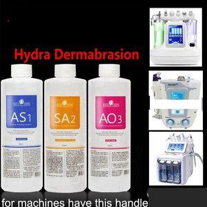 Aqua Clean Solution / Aqua Peel Konsantre Çözüm 400ml Başına Şişe Aqua Yüz Serum Hydra Yüz Serum For Normal Skin Ücretsiz Kargo
