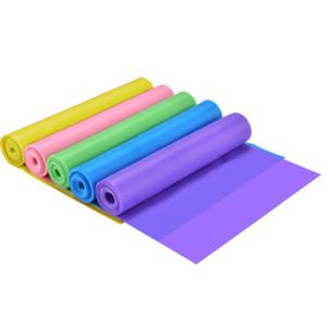 1500 * 15 * 0,35 milímetros Yoga tensão faixa faixas elásticas Men Fitness e formação das mulheres Força Alongamento Bandas banda de resistência Latex ZZA2231