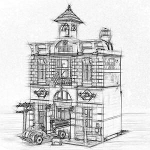 KRAL 84004 2313 Adet Şehir Sokak İtfaiye Modeli 15004 Yapı Taşları Tuğla 10197 Kendinden Kilitleme Tuğla ile Uyumlu çocuk Oyuncakları Hediyeler