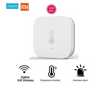 Xiaomi Mi Aqara Sıcaklık Nem Sensörü Ortam Hava Basıncı Mihome Gateway tarafından Mijia Akıllı Ev Zigbee Kablosuz Kontrol