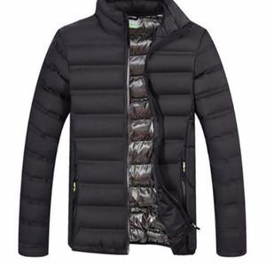 2019 printemps automne manteau d'hiver en coton léger pour hommes matelassé manteau d'hiver Outwear Windbreak mâle vestes