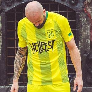2020 FC Nantes edición especial camiseta de fútbol 2020 Local FC Nantes maillot camiseta de pie camiseta edición especial para hombre Sala de manga corta