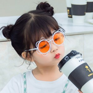 Kids Round Sunflowers Baby Sunglasses Girls Boys Retro Metal Toddler Child Sun Glasses for Infant Gafas De Sol Mujer Uv400 2020