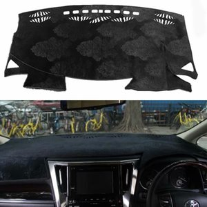 Dash flanella Dashmat Dashboard Car Cover Mat Carpet Car-styling per Alphard Vellfire AH30 2015 2016 2017 2018 2019