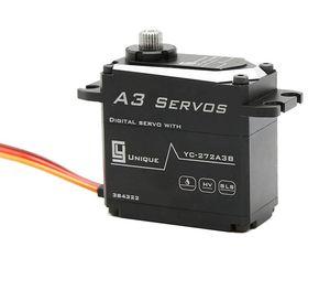 CY Servos A3 30.5Kg.cm 0.081s Digital Brushless Waterproof SS Gears Aluminium Case High precison servos Gear unit virtual position angle 0.2