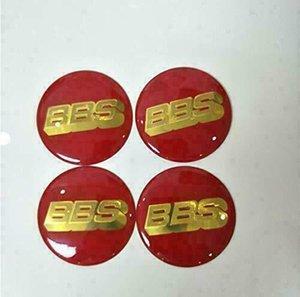 4pcs BBS Car Wheel Center Cap Emblem Badge Stickers 60mm 70mm