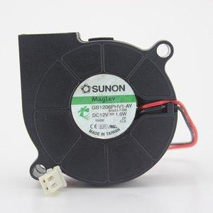 SUNON 6015 / 12V 1.6W 6CM GB1206PHV1-AY original 3 ventilador de ventilador LineTturbo