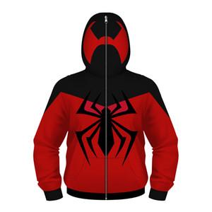 The Avengers Captain America iron Man Spiderman Teenager Boys Sweatshirt Hooded Boys Masked Coats Spring Autumn Children Jacket