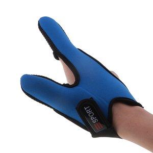 1шт Рыбалка два пальца перчатки нескользящие большой палец указательный палец протектор гвардии