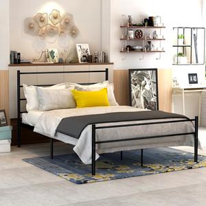 DUMEE Metal Bed SingleDouble living room furniture Железная Мебель для спальни применяется к современной арендной комнате roomHomeHotelGuest