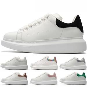 Uomini Donne camoscio nero in pelle piattaforma Aumentare Scarpe Uomo sportivo tripla nero bianco oro rosso camoscio verde Python Sneakers