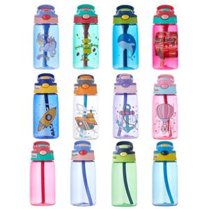 480ml spray Sports garrafa de água portátil desporto ao ar livre Água Chaleira Anti-Leak Beber Cup com névoa acampar FY4123 garrafa de plástico