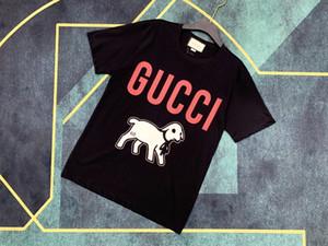 2020 Livraison gratuite vente chaude Designered femmes Hommes T-shirt Fashion Casual T-shirts Printemps de luxe de haute qualité Fille T-shirt XA 2021303Y