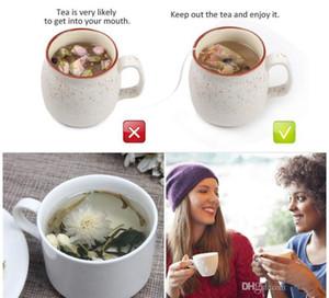 Tè Filtro Borse naturali greggi di tè della carta sacchetto monouso di tè Infuser Svuotare Borsa con coulisse per le erbe Caffè 6 * 8cm