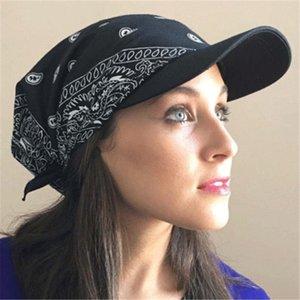 Fashion Summer Womens Ladies Wide Brim Visor Hat Sun Hat Printed Head Scarf Keep Warm Cap Topee Sun Hats for Women Chapeau Femme
