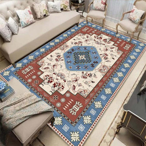 거실 침실 용 민족 카펫 침실 모로코 보헤미안 대형 러그 홈 카펫 바닥 도어 매트 장식 005