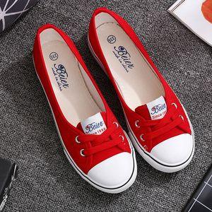 VOGELLIA Повседневная обувь на плоской подошве женщина мелкий рот квартиры платформа белые туфли скольжения на лето женщины холст zapatos de mujer