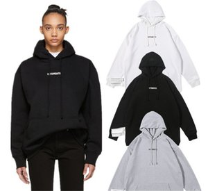 Womens Mens Designer Hoodies VTM Letter Washed Label Vetements Printing Casual High Street Fashion Brand Hooded Sweatshirt