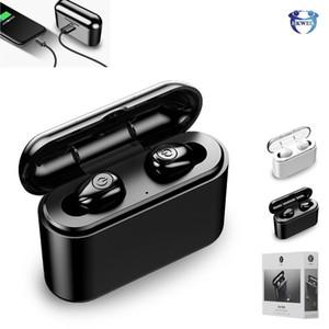 X8 TWS Cuffie Bluetooth BV5.0 Wireless auricolari auricolari Con 3500mAh ricarica Bin per iPhone Samsung Huawei Sm artphone