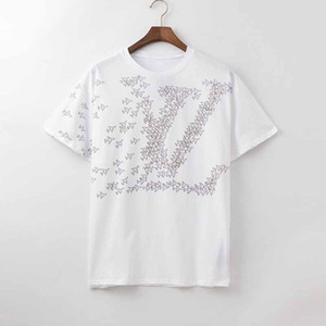 2020 new Luxury Designer Clothes Europe Italy Collaborate Roma Special Edition Tshirt Men Women T Shirt Casual Cotton Tee Top men women