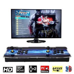2020 [2199 3D HD игры] Pandora 7 3D 1280 * 1080P 32GB Аркады Видео приставки Box Arcade Machine Double Arcade Joystick со спикером yx2199