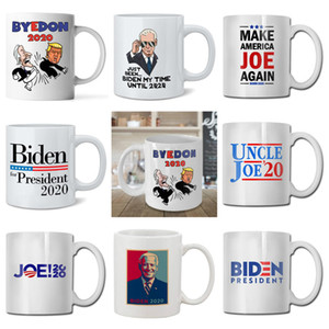 13 style 2020 US election Joe Biden ceramic mug US presidential election coffee cup summer Drink water cups kitchen Drinkware tools T9I00427