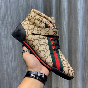gucci shoes 2020 nueva última Wome lujo de los hombres de lujo Marca inferiores rojos para hombre de las zapatillas de deporte de los diseñadores G bajo plano ocasional al aire l